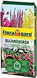 Floragard Blumenerde 5 L - für Balkon-, Kübel- und Zimmerpflanzen - mit Langzeitdünger