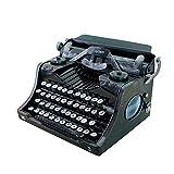 Arvin87Lyly Retro Schreibmaschine Nostalgie Schreibmaschine Schreibmaschine Modell, Englisch Display Requisiten Modell Handmade Bar Dekoration Kunst Stil Heim Handwerk