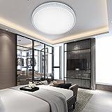 VINGO 50W LED Kristall Deckenleuchte Sternenhimmel Kaltweiß Starlight Deckenbeleuchtung Wohnzimmer Deckenlampe Korridor Schlafzimmer Schönes Mordern Badleuchte