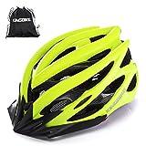 KING BIKE Fahrradhelm Helm Bike Fahrrad Radhelm FüR Herren Damen Helmet Auf Die Helme Sportartikel Fahrradhelme GmbH RennräDer Mountain Schale Mountainbike MTB (Grün, L)