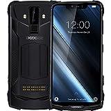 DOOGEE S90 - Outdoor Android 8.1 Smartphone (10050mAh Batterie), Helio P60 Achtkern 6GB+128GB, 6.18'' FHD + Bildschirm, IP68/IP69K wasserdicht/stoßfest, 16MP+8MP Smart AI Kamera - Schwarz