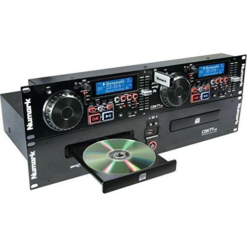 Numark CDN77USB Dual USB und MP3 CD Player für professionelle DJs