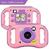 AGM MP3 Kinderkamera ,Digitalkamera Videokamera Full HD 1080P mit 1.77' LCD Display Design,Eingebauter Speicher von 4GB, ,Geburtstag Festival Geschenk für Kinder Jungen Mädchen