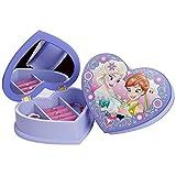 Disney Die Eiskönigin Elsa & Anna Mädchen Schmuckkästchen Herz - lila -