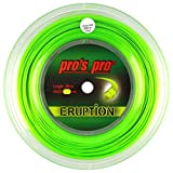 PROS PRO Eruption Tennissaite - 200m Rolle - 1.24mm - Grün