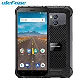 Handy Ohne Vertrag, Ulefone Armor X Waterproof IP68 Smartphone 5.5' HD Quad Core Android 8.1 2GB+16GB NFC 5500mAh Wireless Charge