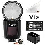 Godox V1-S TTL Kamera Blitzkamera Blitzgerät für Sony-Kamera with Lithium Battery