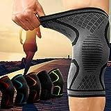 Kniebandage gegen Knieschmerzen 2er Set für Männer & Frauen - Bequeme Sport Knieorthese mit Antirutsch Saum - Knee Support gegen Arthrose, Meniskus, Knieschmerzen