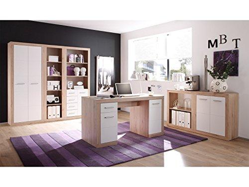 Büro-Set Büroeinrichtung Büromöbel Heimbüro Büroprogramm Bürokombi 'Lisetta III'