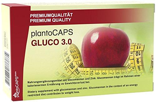 Abnehmen mit plantoCAPS GLUCO 3.0 Kapseln | Appetitzügler | Appetithemmer