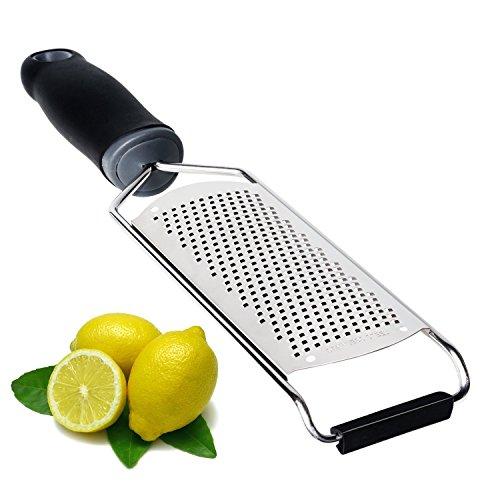 Eastshining parmesan Käsereibe edelstahl Küchenreibe muskat Reibe Zitronenreibe ingwer reibe schokolade reibe mit Sicherheitsabdeckung