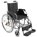 Trendmobil Rollstuhl TMB Faltrollstuhl mit Steckachsensystem Sitzbreite 48 cm Reiserollstuhl Transportrollstuhl HMV 18.50.02.0110 Belastbarkeit 135 kg Sitzhöhe 47 oder 50 cm einstellbar PU Bereifung