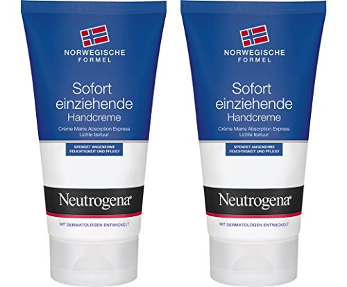Neutrogena Norwegische Formel Sofort Einziehende Handcreme / 2 x 75ml
