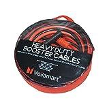 Voilamart Starthilfekabel/Starthilfekabel für Benzin, Diesel, Auto, Van, LKW, robust, 3000 A, 6 m, inkl. Tragetasche mit Reißverschluss und Griff