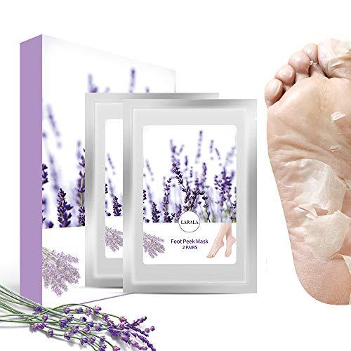 Fußmaske Hornhaut Entfernung, Fussmaske Peeling Hornhautentferner Baby Füße Socken 2 Paar für Männer und Frauen