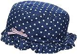 NAME IT Baby-Mädchen Sonnenhut NMFBERNA DNM 3027 HAT, Blau Dark Blue Denim, 51