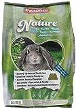 Nature Kaninchen | Getreidefreies Kaninchenfutter | Mit getrockneten Kräutern & kanadischem Timothy Heu | Ohne Konversierungsstoffe | 3 kg