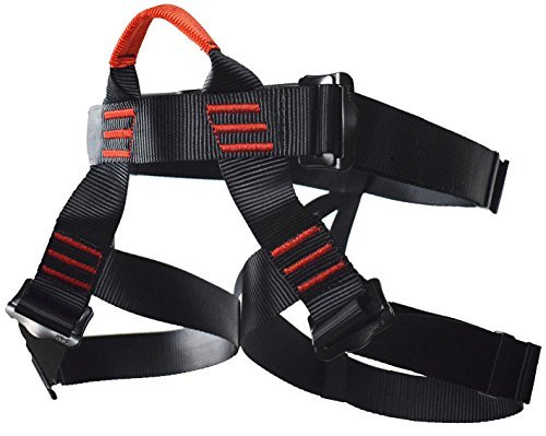 Newdoar Klettergurt Sicherheitsgurt für Bergsteigen Klettern Harness