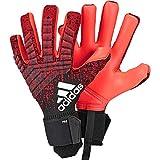 adidas Herren Predator Pro Torwarthandschuhe, Active Black/Solar Red, 9