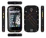 Outdoor Smartphone PELITT Tempo IP68*Dual-SIM*Quad-Core 1,2 GHz*4 Zoll IPS Display*LTE WiFi Bluetooth GPS*Kamera mit Blitz 8 MP*Android 5.1*Ohne VERTRAG und SIM-LOOCK