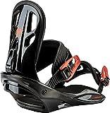 Nitro Snowboards Kinder Charger'18 Snowboard Bindung, Red, M