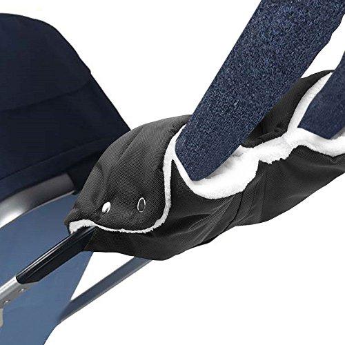 Infreecs Handwärmer Handschuhe Handmuff für Kinderwagen Buggy Kinderwagenmuff, Muff mit Fleece Innenseite, wasser- und windabweisend
