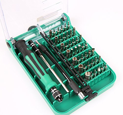 Schraubendreher Set 45 in 1 Uktunu Magnetische Präzisions Minischraubenziehern Schraubenzieher Satz Bits mit flexibler Welle Haushaltsreparatur für Handys Elektronische DIY-Modelle und Elektronische