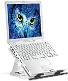 General Office Laptop Ständer: Notebook-Ständer aus Aluminium, mit Drehteller (Laptophalter)