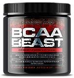 BCAA Beast - Demon Labz | BCAA Pulver 10:1:1 | 15.000mg BCAA pro Portion - Verzweigtkettige Aminosäuren - Geeignet als Pre- und Post-Workout Drink - Beerengeschmack (300g)