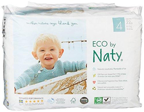 Naty by Nature Babycare Öko Höschen-Windeln - Größe 4 (8-15 kg), 1er Pack (1 x 22 Stück)