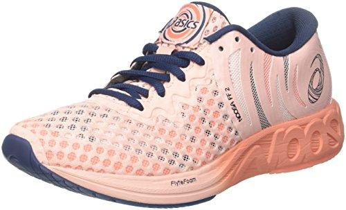 Asics Damen Noosa FF 2 Triathlonschuhe, Pink (Seashell Pink/Dark Blue/Begonia Pink 1749), 40.5 EU