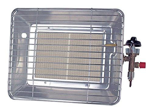 Rothenberger IndustrialHeiz – Strahler -VERSION DEUTSCHLAND - Gasheizstrahler, Aufsatzheizstrahler, betrieben mit Propan - Gas für 5 kg oder 11 kg Flaschen