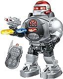 Ferngesteuerter Roboter - Feuert Scheiben, tanzt, spricht - Super unterhaltsamer RC Roboter