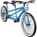 Galano Tandem Fahrrad 26 Zoll Mountainbike Oakland 24 Gang MTB Hardtail Fahrrad (blau, 48/41 cm)