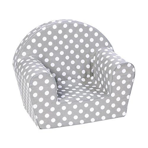 Knorrtoys 68340 - Kindersessel - 'dots grey'