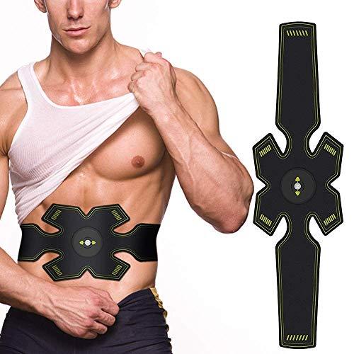 Hochentwickelter Bauchmuskeltrainer Elektrisch Gürtel für Einen Durchtrainierten Bauch - Bauchmuskel-Gürtel, EMS Bauch-Training, Stärkung der zentralen und seitlichen Bauchmuskulatur