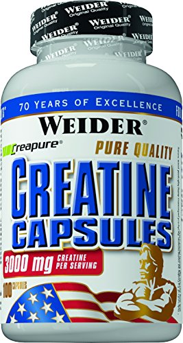 Weider, Pure Creatine, 1er Pack (1x 100 Kapseln)