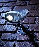 Auraglow Drahtloser Superhelles Sicherheitslicht mit PIR Bewegungssensor, Wetterfest, Solarbetrieben Sicherheit Licht