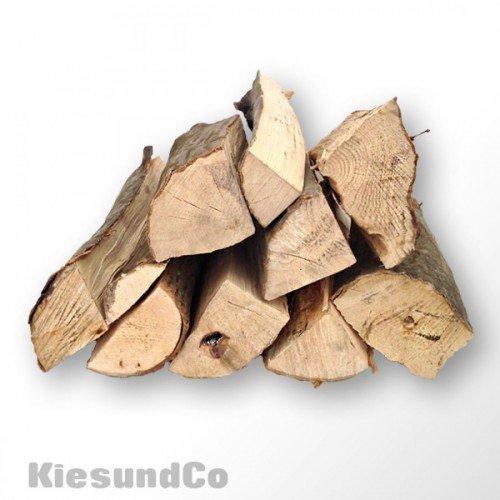 Hamann Mercatus GmbH Kaminholz 30 kg ofenfertiges Buchenholz trocken, Grillholz Feuerholz ca.32 cm - schönes Flammenbild & hoher Heizwert