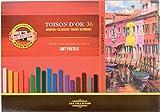 KOH-I-NOOR TOISON D'OR 8585 Weiche Künstler-Pastellkreiden (36 Stück)
