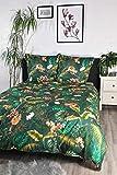 jilda-tex Bettwäsche Digitaldruck 100% Baumwolle Design Amazonas Bettwaesche 135x200 cm Bettwaesche