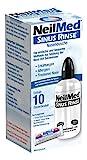 NeilMed Nasendusche hilft bei Erkältungen, verstopfter Nase, einfach und schnell anzuwenden mit 10 Portionen Nasenspülsalz