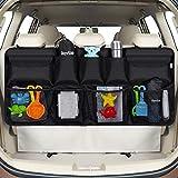 Rovtop Kofferraum Organizer Auto Organizer Auto für alle Arten von Limousine Heckklappe/SUV/MVP ordentlich Veranstalter Schwarz