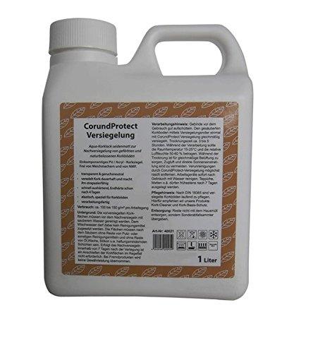 Korklack, Korkversiegelung - Aqua-Korklack - seidenmatt - für alle versiegelten Korkböden