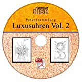 IWC Luxusuhren, 24 Patente der International Watch Co AG als PDF auf CD, deutsch