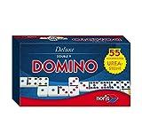 Noris Spiele 606108003 - Deluxe Doppel 9 Domino