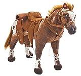 Happy People 58937 - Cowboypferd 'Anglo-Araber', mit Sound, Tragkraft ca. 100 kg