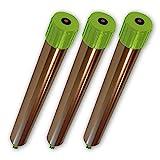 ISOTRONIC Maulwurfabwehr Vibrasonic 3er Set NEU mit Vibrationsmotor batteriebetrieben Wühlmausfrei Wühlmausschreck Wühlmausvertreiber Wühltierfrei Maulwurfschreck Schlangenabwehr (3)