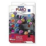 Staedtler 8023 01 Modelliermasse - Fimo soft, 12 Halbblöcken, 25 g