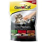 GimCat Nutri Pockets Malt-Vitamin Mix, 1er Pack (1 x 150 g)
